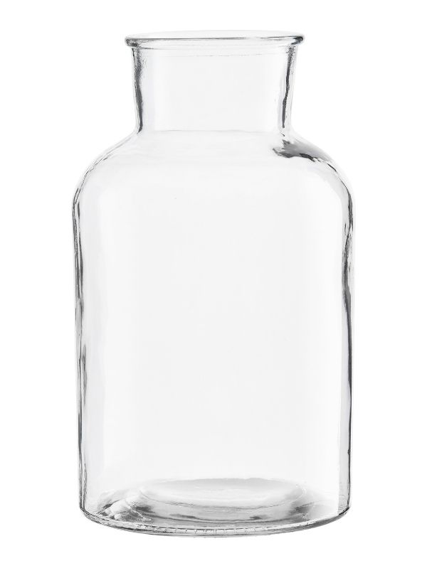 Vase en Verre Transparent Pure - 30 cm